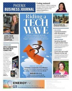 Front Cover_Phoenix Business Journal 9.19.14