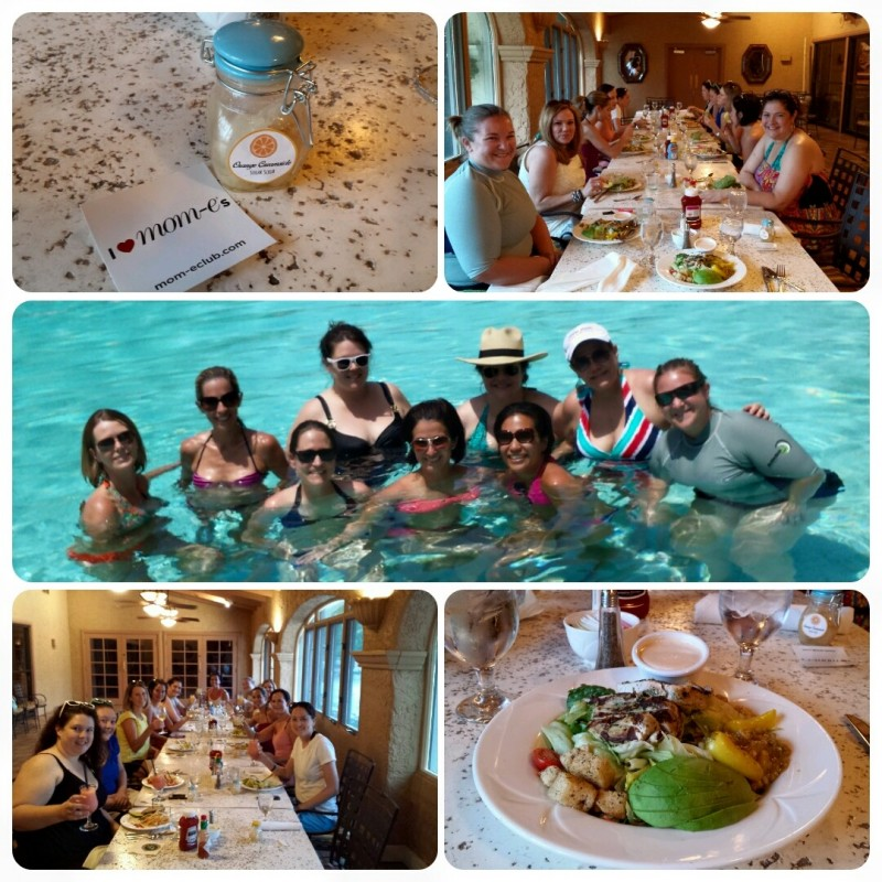 Summer Spa Day Collage
