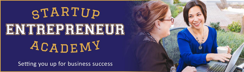 Startup Entrepreneur Academy Header