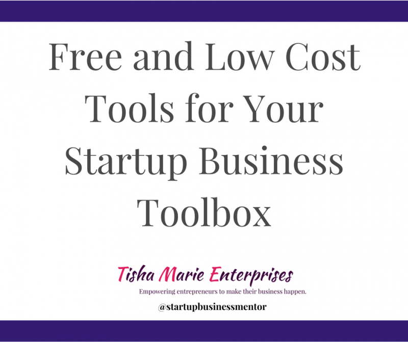 Free and low cost tools for your startup business