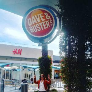 Dave & Busters Tempe AZ and Tisha